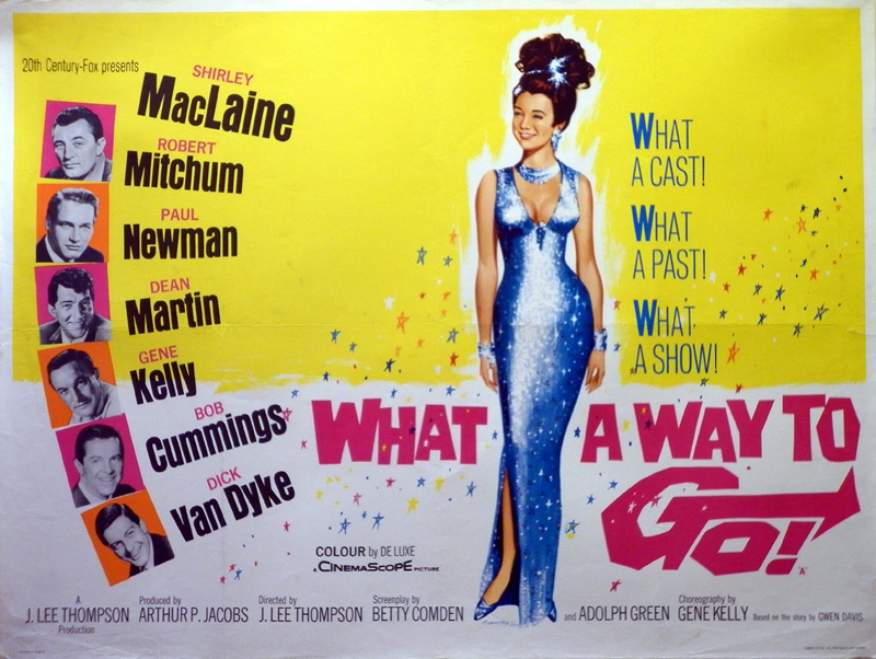 What A Way To Go Quad Poster, 1964
