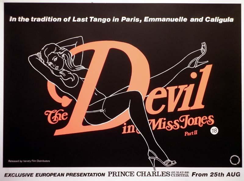 The Devil In Miss Jones Ii Quad Poster