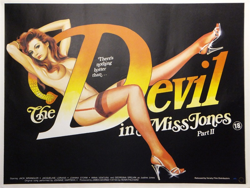 The Devil In Miss Jones Part Ii Quad Poster